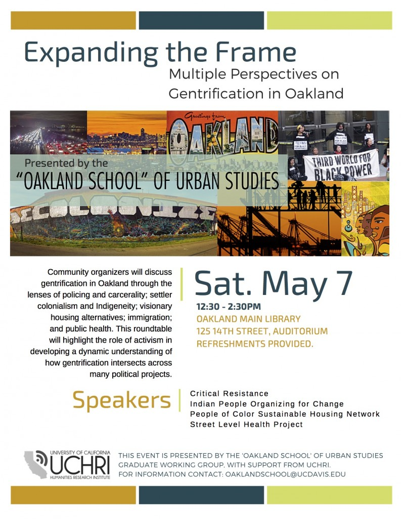 Oakland School May 7 Flyer (2)